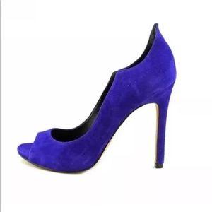 Dolce Vita Blue Suede Heels